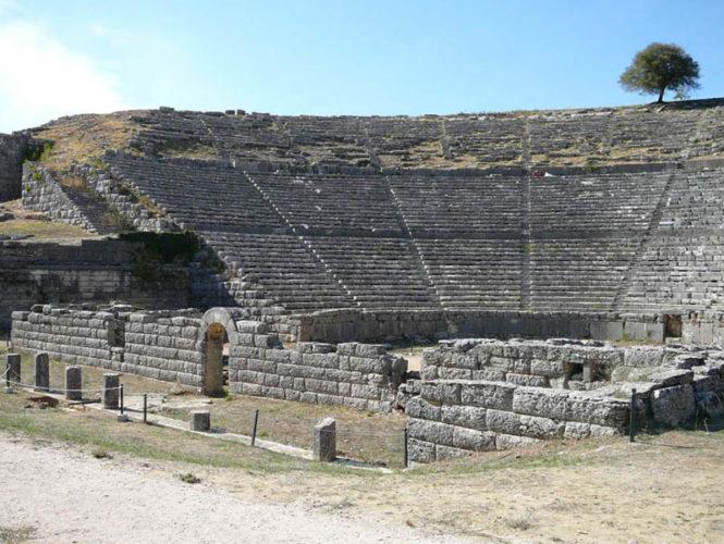 Δωδώνη Αρχαίο θέατρο