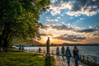Ιωάννινα Λίμνη θέα