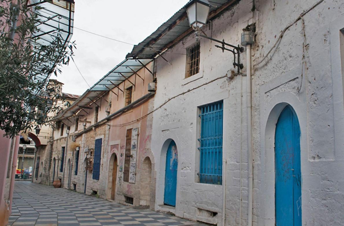 Οι στοές της παλιάς πόλης των Ιωαννίνων