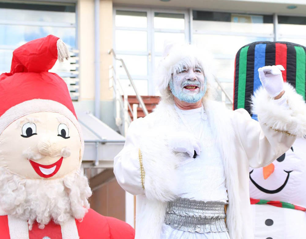 Ασημένια Χριστούγεννα Ιωάννινα χριστουγεννιάτικο χωριό
