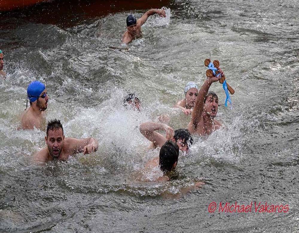 Αγιασμός των Υδάτων, στη Λίμνη Παμβώτιδα Ιωαννίνων