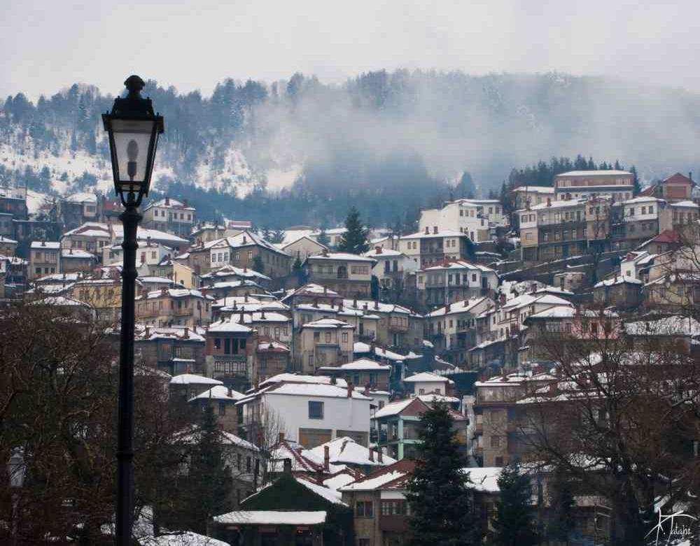 Μέτσοβο Ήπειρος Χιόνια Ιωάννινα Metsovo Greece Winter