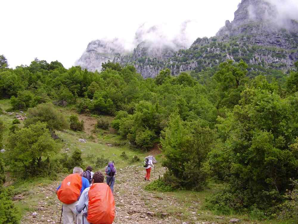 Πεζοπορία trekking στην Ήπειρο