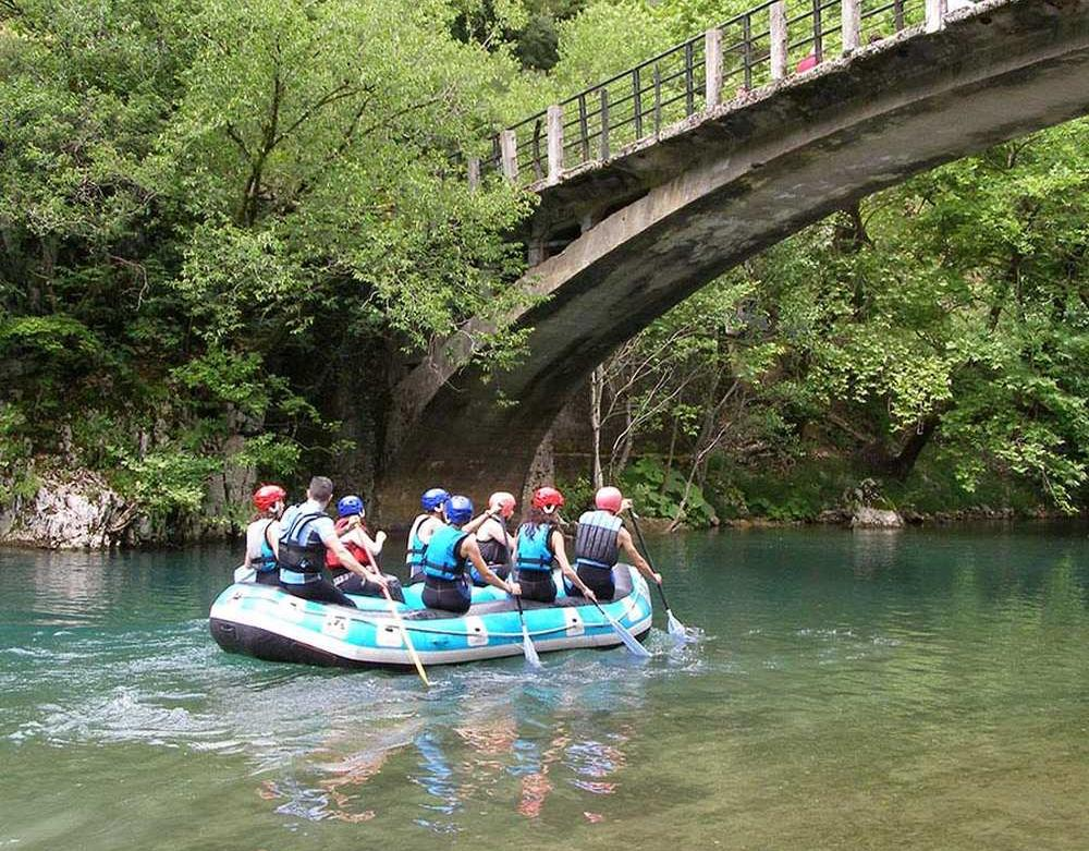 Rafting athletic center Ioannina Zagori